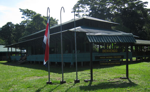 The Sirena ranger station in Corcovado National Park.