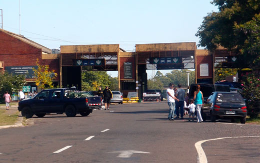 One last border crossing into Argentina.