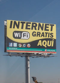 Wifi sign in Mexico