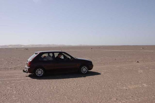 Ford Fiesta used for Botswana / Namibia 2006