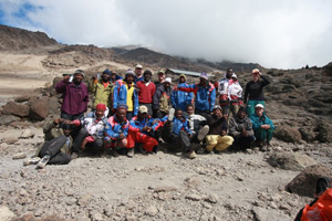One time expenses- like climbing Kilimanjaro