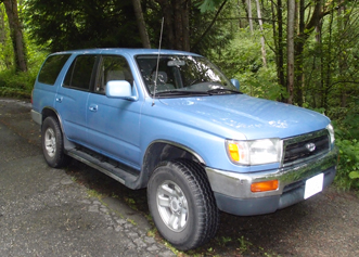 Blue our Toyota 4runner to South America