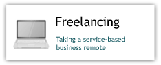 Freelancing: Taking a service based business remote