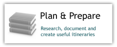 Plan and Prepare: Research Document and create useful itineraries